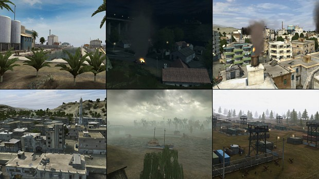 Project Reality Coop Map Pack 1