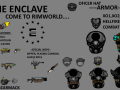 The Enclave rimworld -X01 EDITION--