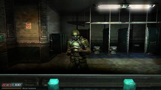 Arl helmet mod bfg mod for Doom 3 bfg Hi Def
