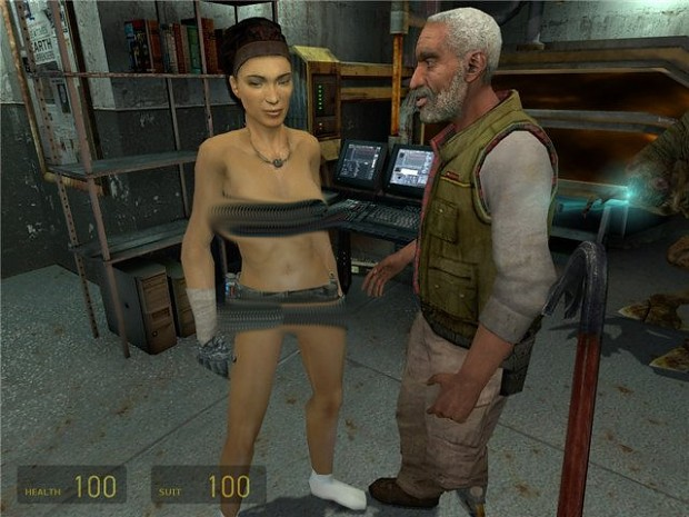 [ADULT18] Half-Life 2 Nude Alyx Mod With Shiny Fix