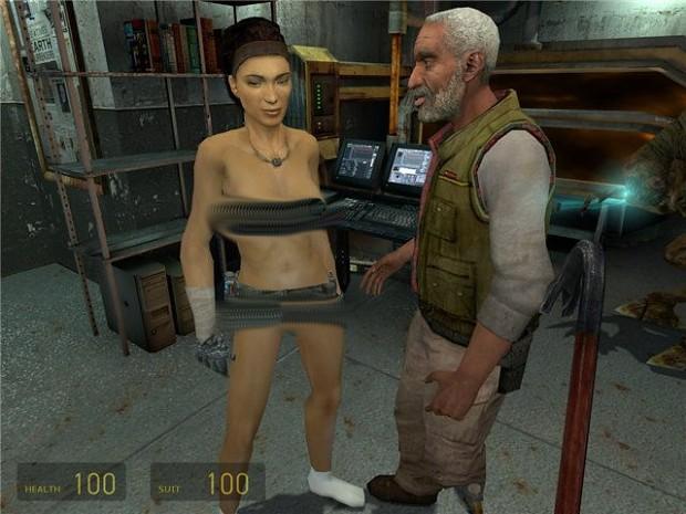[ADULT18] Half-Life 2 Nude Alyx Mod With Shiny Fix