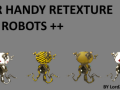 Mr Handy Texture Replacer For Advanced Robots ++
