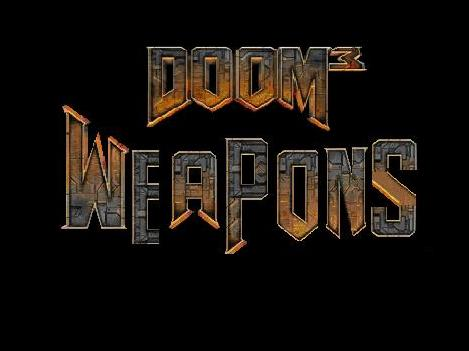 Doom 3 Weapons .WAD file