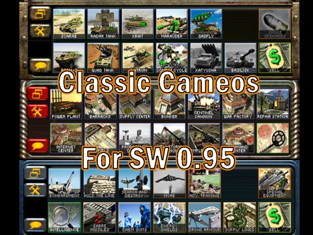Classic Cameos for SW 0.95