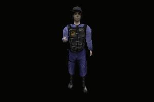 Blue Barney [Multiplayer Model]