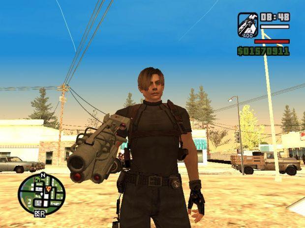 Resident Evil 4 weapons v1.1