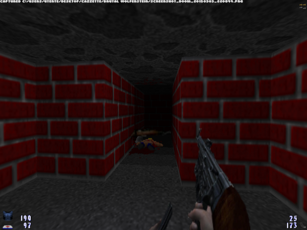 Brutal Wolfenstein 3D v4.5 Waiting For v5.0