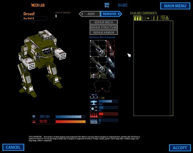 Mech Commander Omnitech 628