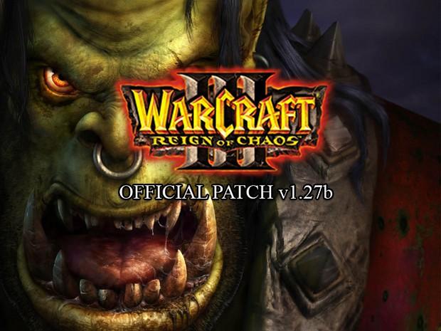 WarCraft III RoC v1.27b Patch (Mac Chinese Trad.)