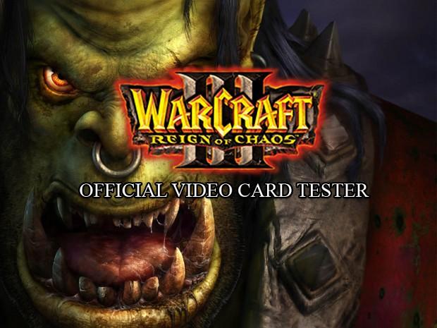 WarCraft III Video Card Tester