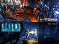 Aliens Colonial Marines splash screens by pehi
