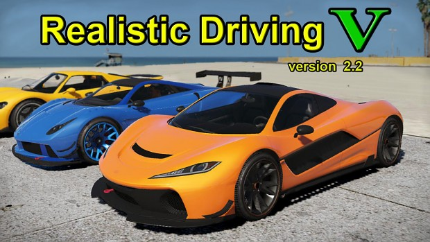 Realistic Driving V, version 2.2