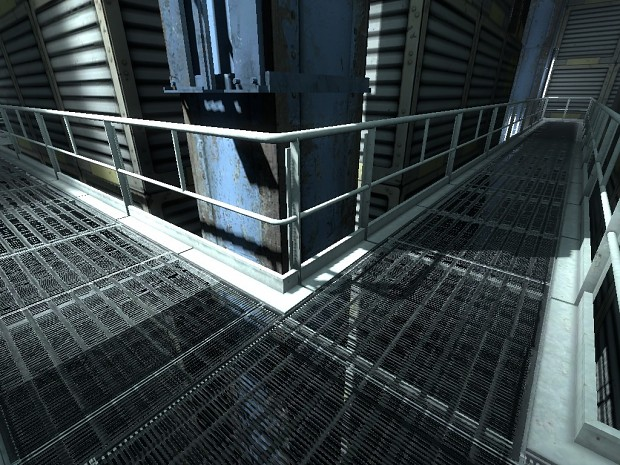 Portal 2 beta catwalks