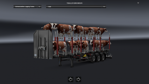 Cows Cargo Trailers