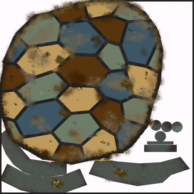 The Parabellum new stahlhelm camo texture