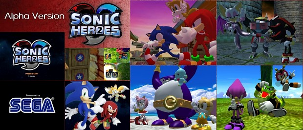 Sonic Heroes 2 - Alpha Version