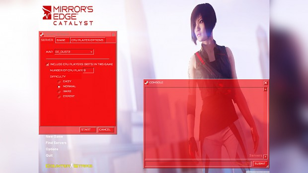 Mirror's Edge Catalyst GUI + Music