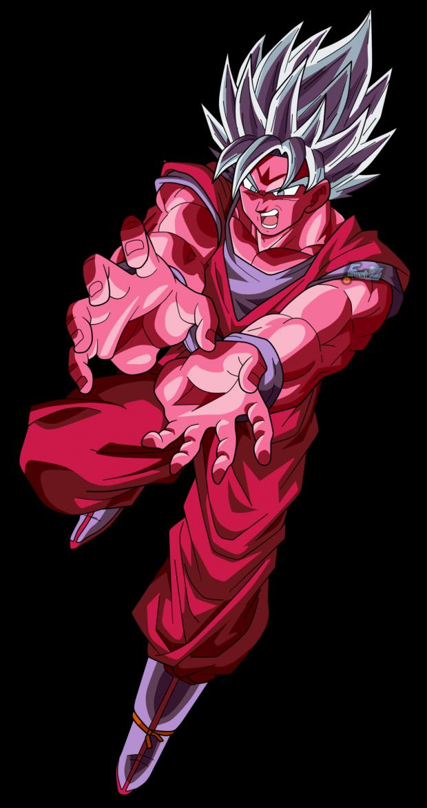Goku Super Sayian Blue Kaioken