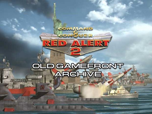 C&C Red Alert 2 GameFront Archive