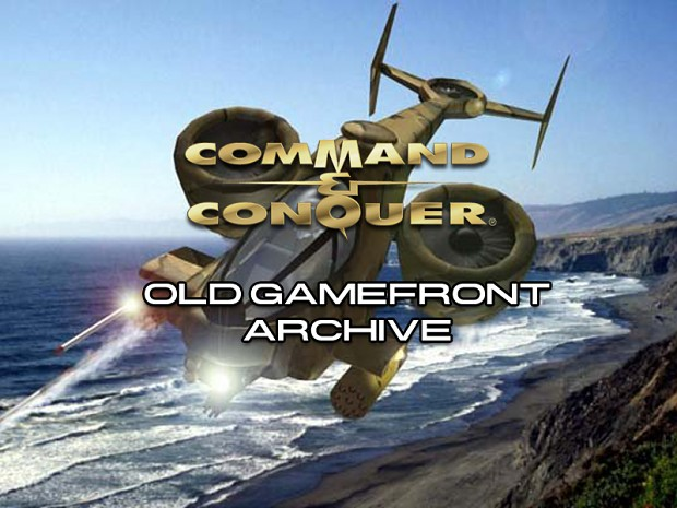 C&C Tiberian Dawn GameFront Archive