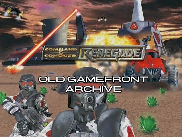 C&C Renegade GameFront Archive