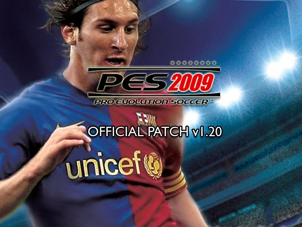 Pro Evolution Soccer 2009 v1.20 Patch