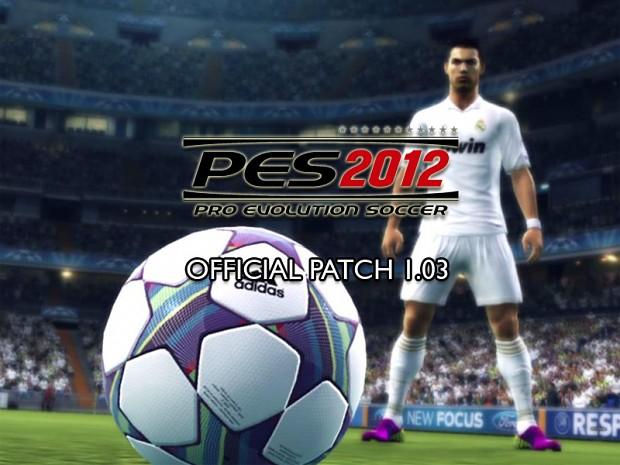 Pro Evolution Soccer 2012 v1.03 Patch (Retail)