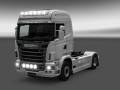 Scania With Small And Big Lights