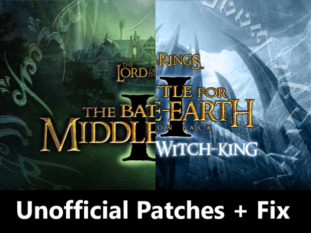 Unofficial Patches + Fix