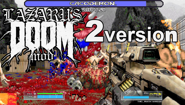 LAZARUS MOD Version 2 RELEASED! OUT NOW!