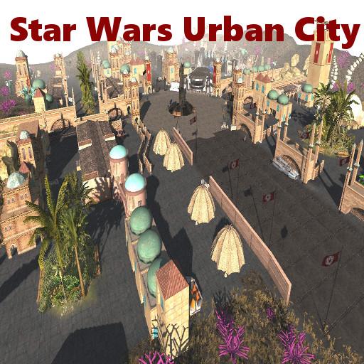 Star Wars Urban City Map