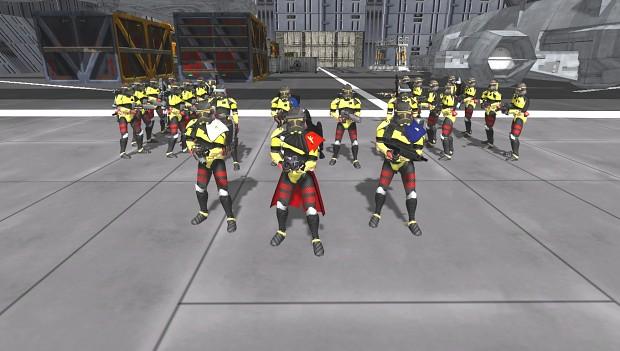 17th Clone Legion Skins