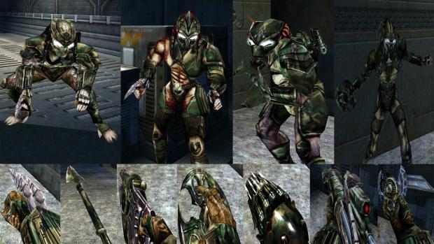 Camouflage Predators