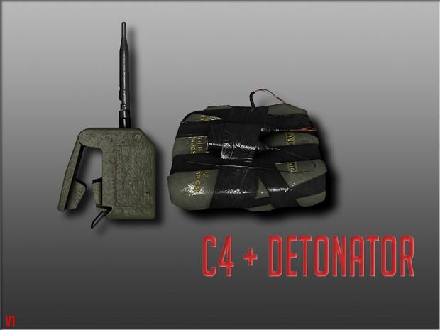 C4 + Detonator Pack [v1]