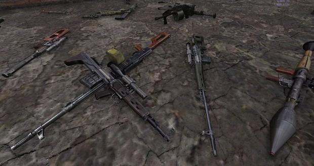 Weapon Rebalance
