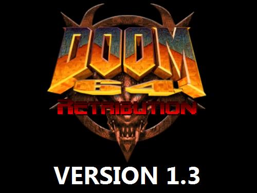 Doom 64: Retribution (Version 1.3)