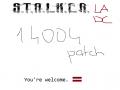 S.T.A.L.K.E.R. Lost Alpha DC - Patch 1.4004