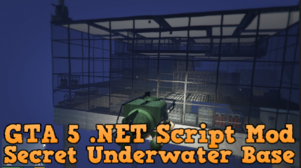 Secret Underwater Base Expansion [.NET] v1.10