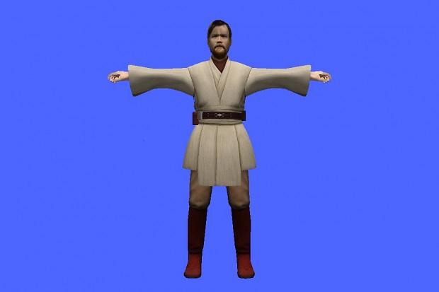 Battlefront 3 Obi Wan asset BETA