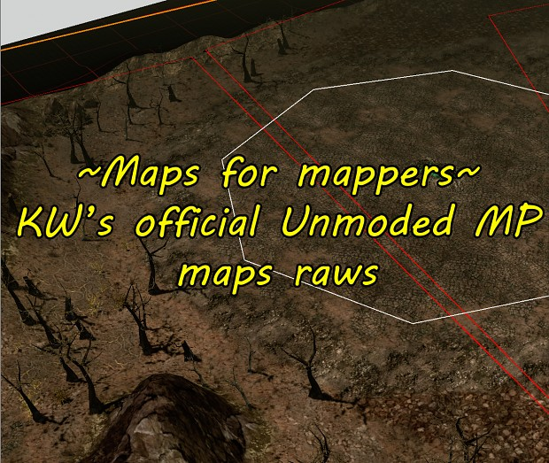 Official KW's MP maps extracted, fixed, Unmoded