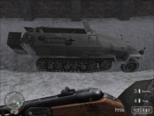 War_Crimes's German 6th army Halftrack 2.0 (Skin)