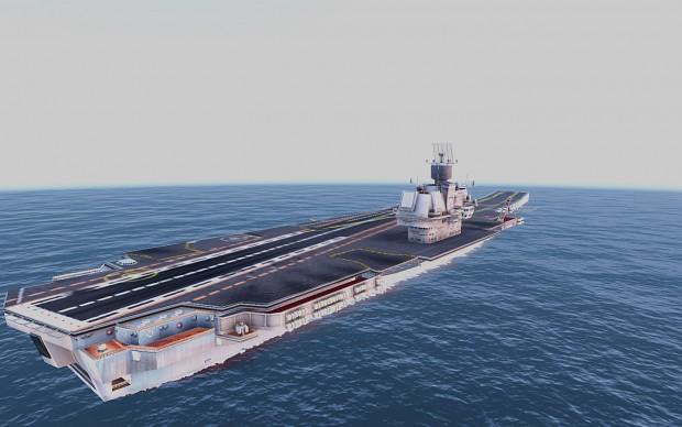 Aircraft Carrier Ulyanovsk