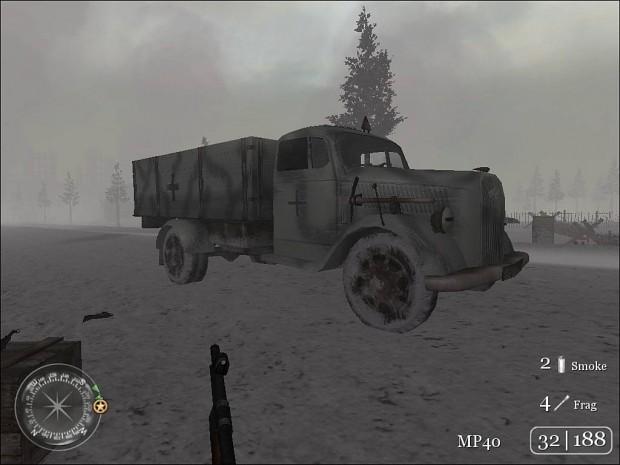War_Crimes's Snow Opel Blitz (v2.0)