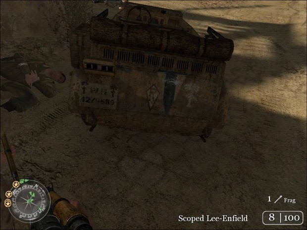 War_Crimes's desert Kubelwagen (Skin)