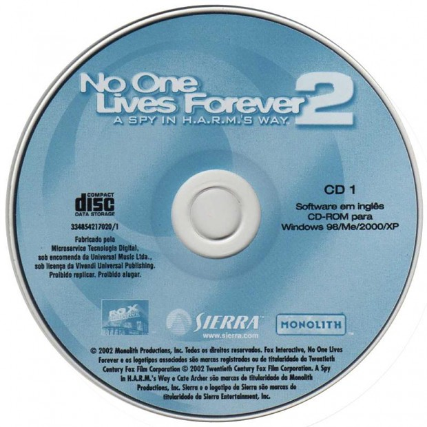 Mini-image NOLF2: Play NOLF2 game without CD