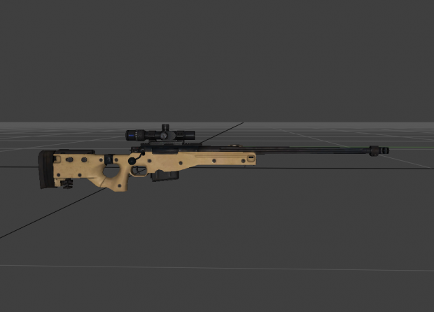 Battlefield 4 L115 Sniperscope Pack
