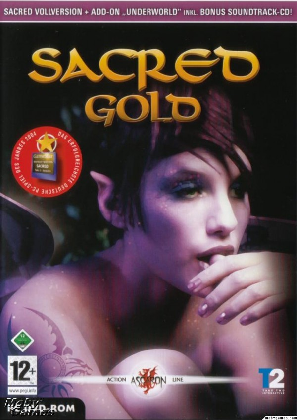 sacred gold deutsch