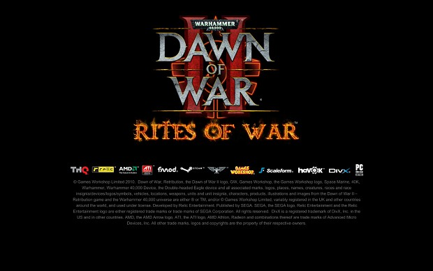 Dawn of War II - Rites of War 3.9