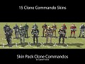 Clone Commandos (skin pack/unit pack)