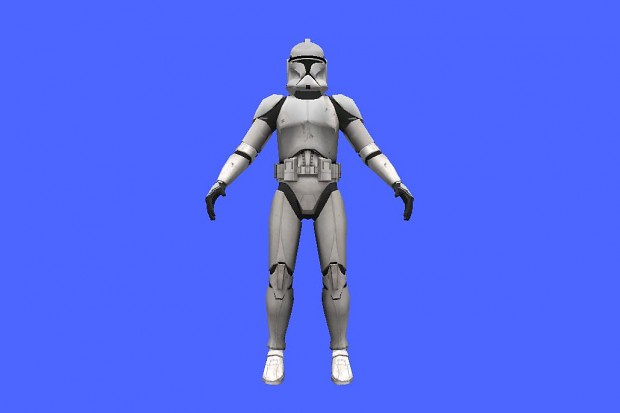 Improved phase 1 clone trooper assets